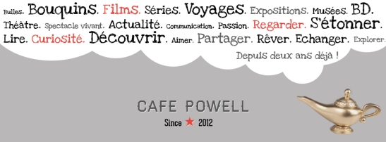 Café Powell  bannière lampe